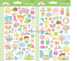 Simply Spring Mini Icon Stickers