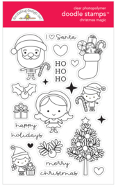 Christmas Magic Doodle Stamps