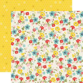 Summer Farmhouse Sunny Day Double Sided 12x12""