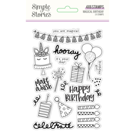 Magical Birthday 4x6 Stamps