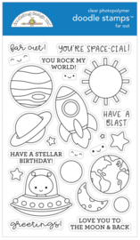 Far Out Doodle Stamps