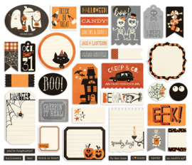 Boo Crew Journal Bits & Pieces