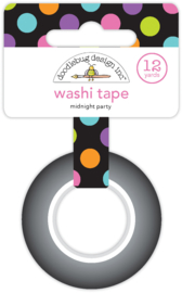 Midnight Party Washi Tape