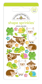 Otterly Adorable Shape Sprinkles