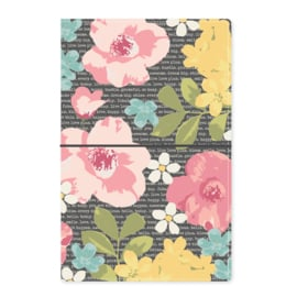 Typewriter Floral Traveler's Notebook