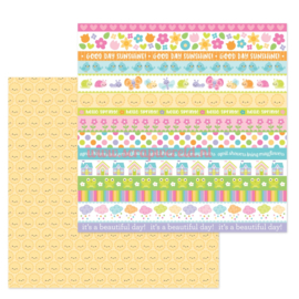 "Sweet Sunshine 12x12"" Double Sided Cardstock"