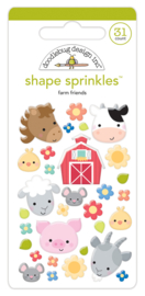 Farm Friends Shape Sprinkles