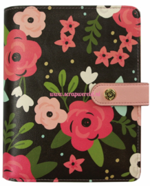Black Blossom Personal Planner
