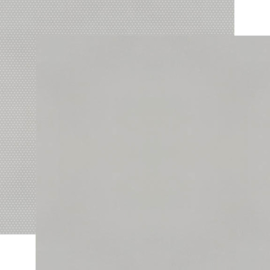 Grey Textured Cardstock Double Sided 12x12""
