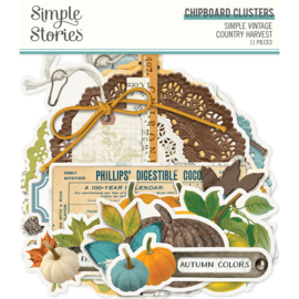 SV Country Harvest - Chipboard Clusters