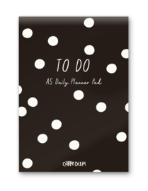 Daily Planner Pad Black
