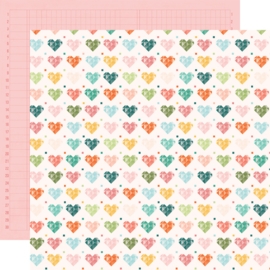 Hey, Crafty Girl Made with Love Double Sided 12x12""