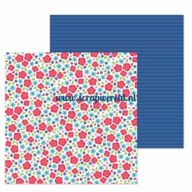 "Just Rosey Double Sided 12x12"" Cardstock"