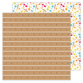 School Days Good Measure double-sided cardstock