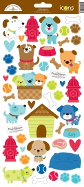 Puppy Love Icon Sticker