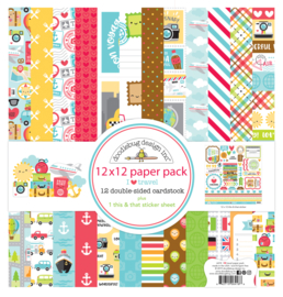 I ♥ Travel 12x12 Paperpack