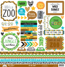 "At The Zoo 12x12"" Paperpack"