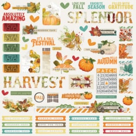 Autumn Splendor Combo Stickers