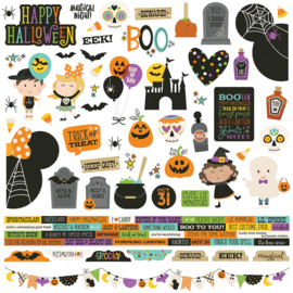 Say Cheese Halloween Combo Stickers