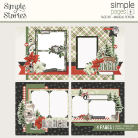 Simple Pages Page Kit - Magical Season