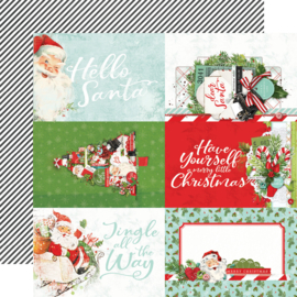 SV North Pole - 4x6 Elements Double Sided 12x12""