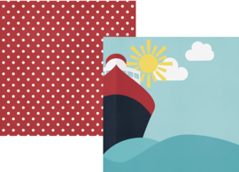 Set Sail Double Sided 12x12""