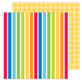School Days Very Primary double-sided cardstock