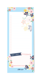 Magnetic To Do List Ditsy Floral