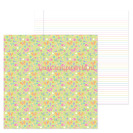 "Bloomin' Bugs 12x12"" Double Sided Cardstock"