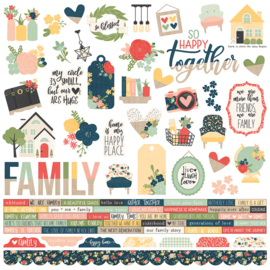 So Happy Together Combo Stickers