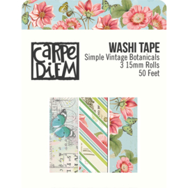 Simple Vintage Botanicals Washi Tape