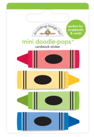 Colorful Crayons Doodlepop