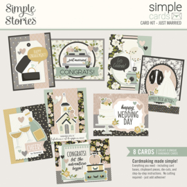 Simple Cards Card Kit - HEA Just Married