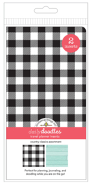 Country Classics Daily Doodles Travel Planner Inserts