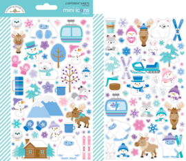 Winter Wonderland Mini Icons Stickers