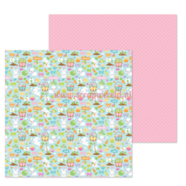"Hoppy Easter 12x12"" Double Sided Cardstock"