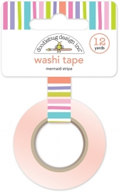 Mermaid Stripe Washi Tape