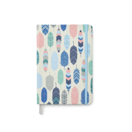 Soft Cover Journal Feathers