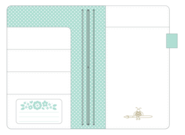 Mint Daily Doodles Travel Planner