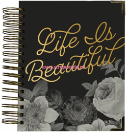 Beautiful 16 month weekly Spiral Planner