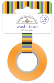 Halloween Stripe Washi Tape