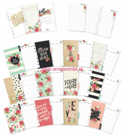 Personal Bloom Monthly Planner Inserts