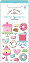 Cake Shoppe Shape Sprinkles