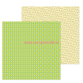 "Hoppy Spring 12x12"" Double Sided Cardstock"