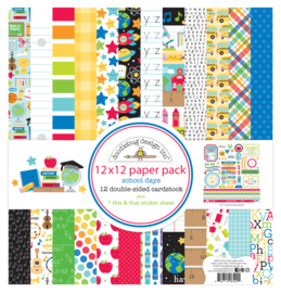 School Days 12x12 Paperpack
