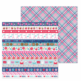 "Passion for Plaid Double Sided 12x12"" Cardstock"