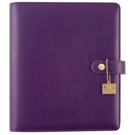 Carpe Diem Grape A5 Planner