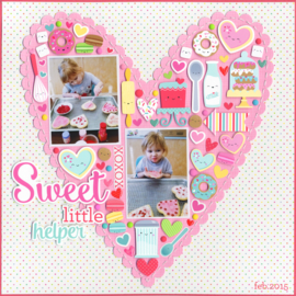 Sweet Hearts Shapes Sprinkles
