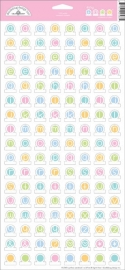 Pastel Tiny Tabs Stickers