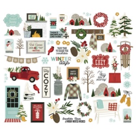 Winter Farmhouse Bits & Pieces